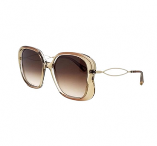 Chloe CE740S Beige Square Sunglasses