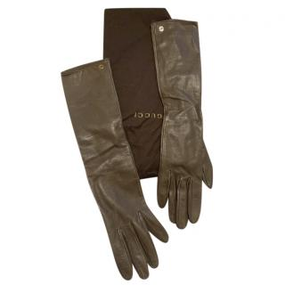 Gucci Soft Leather Gloves - Size 7