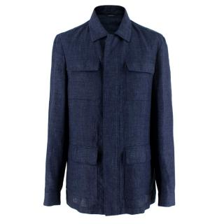 Loro Piana Linen Lightweight Jacket