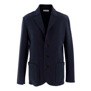 Ermenegildo Zegna Navy Wool&Cashmere Blazer