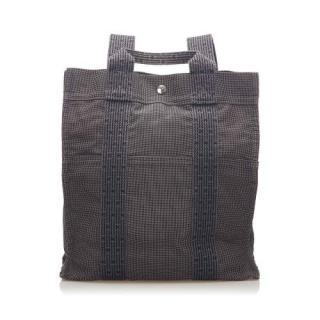 Hermes Herline Canvas Backpack