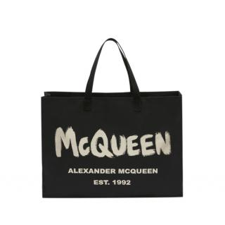 Alexander McQueen East West McQueen Graffiti Tote