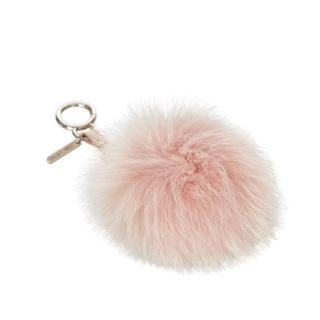 Fendi Blush Fur Pom-Pom Key Chain