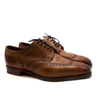 Edward Green Brown Leather Brogues