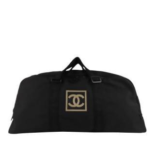 Chanel CC Sports Line Nylon Travel Bag