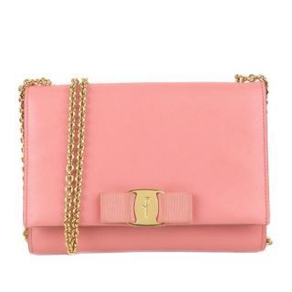 Ferragamo Pink Ginny Crossbody Bag