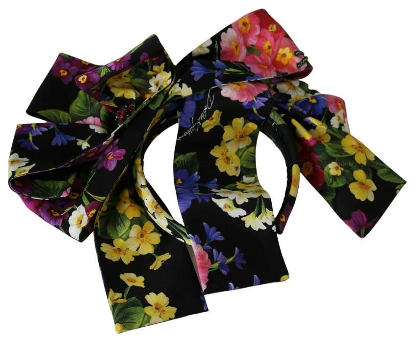 Dolce & Gabbana Floral Bow Detail Headband