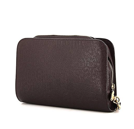 Louis Vuitton Taiga Leather Baikal Clutch