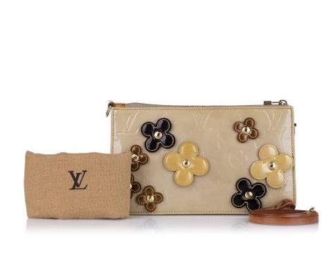 Louis Vuitton Vernis Lexington Fleurs Pochette
