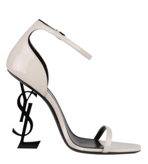 Saint Laurent Cream Opyum 110mm Sandals