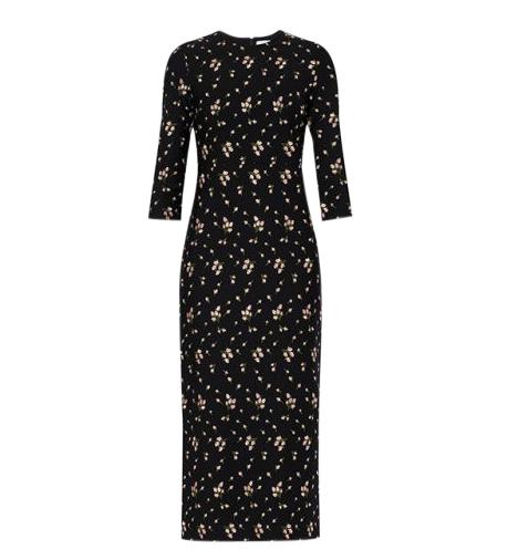 Erdem Evanna Jersey Maxi dress