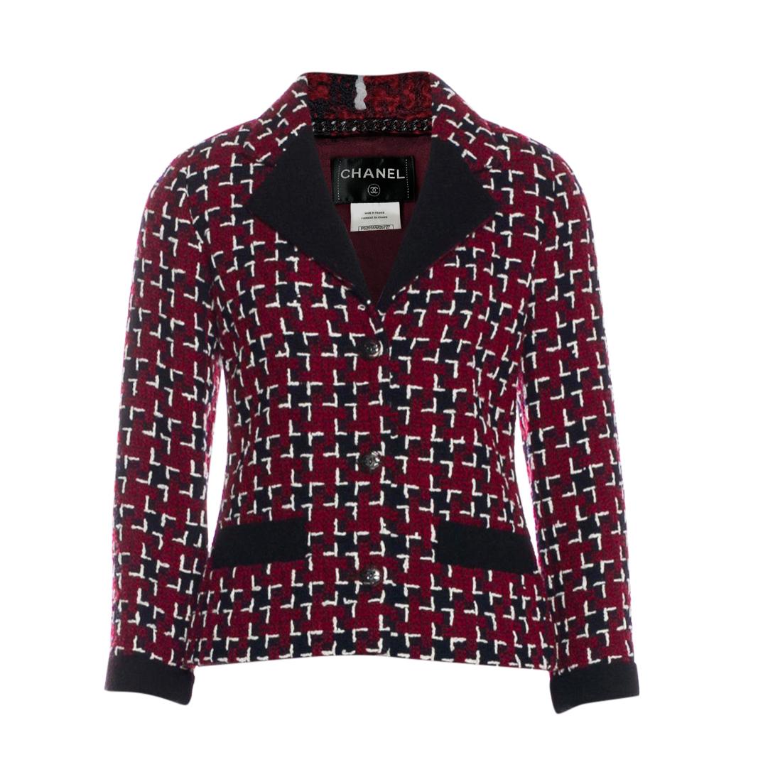 Chanel COCO Brasserie Fantasy Tweed Jacket