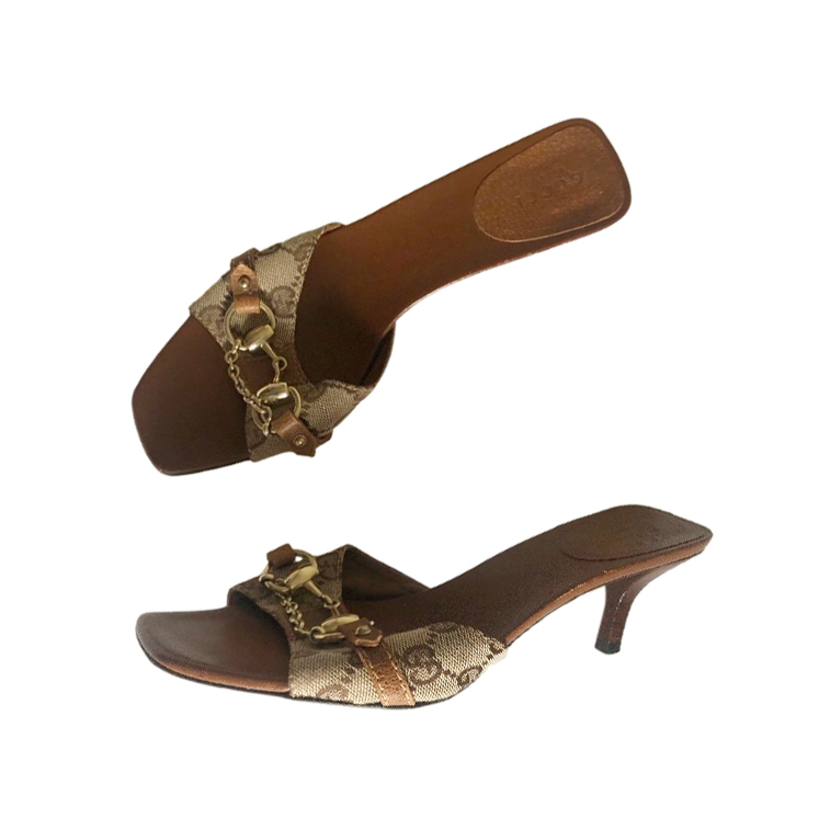 Gucci By Tom Ford Vintage Supreme Horsebit Mules