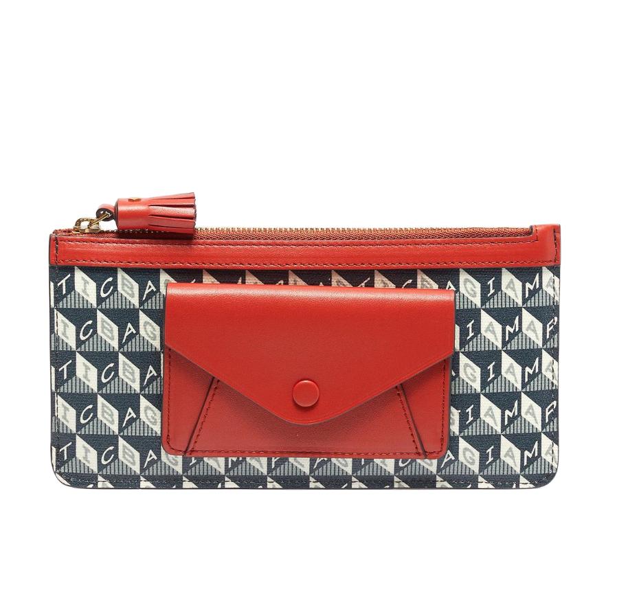 Anya Hindmarch Plastic Bag Collection marine wallet