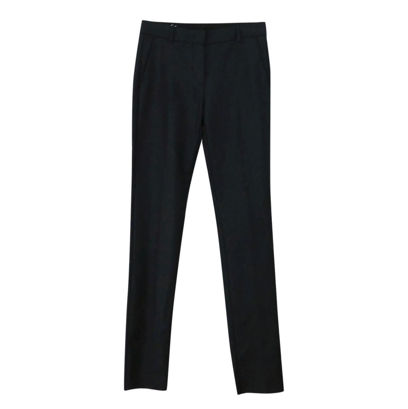 Sportmax Black Ofidio Skinny trousers