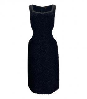 Louis Vuitton Textured Cut-Out Sleeveless Dress