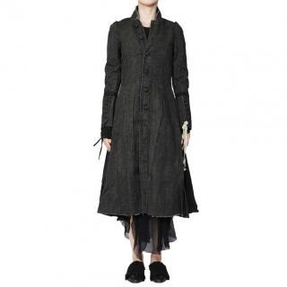 A Tentative Atelier Chocolate Brown Joannes Dress Coat