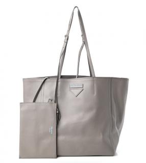 Prada Grace Lux Light Concept Shopper Tote Argilla