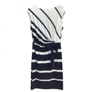 Lauren Ralph Lauren Striped Jersey Dress
