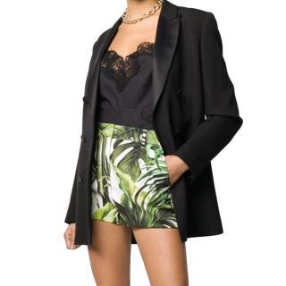 Dolce & Gabbana Tropical Printed Cotton Shorts