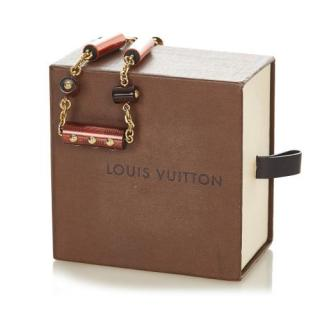 Louis Vuitton Resin Circus Signature Necklace