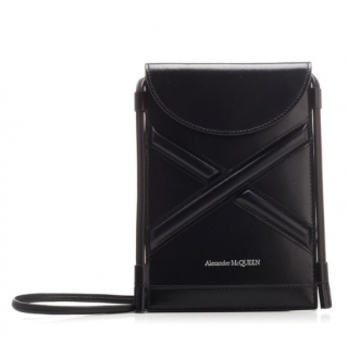 Alexander Mcqueen The Curve Micro leather crossbody bag