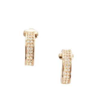Dior Crystal Embellished Vintage Clip-On Earrings
