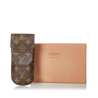 Louis Vuitton Monogram Etui Lunettes Eyeglass Case