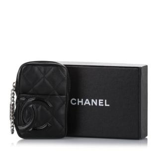Chanel Cambon Ligne Leather Pouch