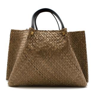 Valentino Straw Tote Bag