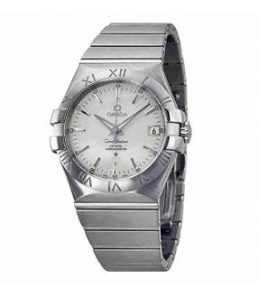 Omega Vintage Stainless Steel Constellation Watch