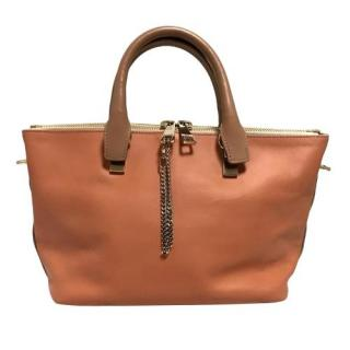 Chloe Bi-Colour Bailey Leather Tote Bag