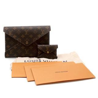 Louis Vuitton Monogram Canvas Envelope Pouch & Cardholder