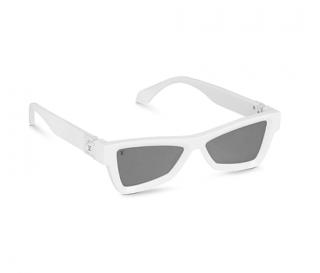 Louis Vuitton Skepticals White Sunglasses