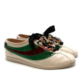 Gucci Patent Leather Trainers