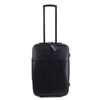 Louis Vuitton Pegase 35 Black Leather Travel Suitcase