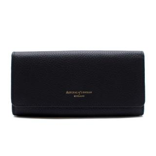 Aspinal of London Navy Leather Purse
