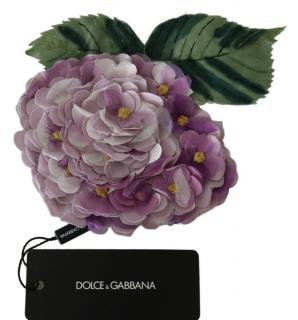 Dolce & Gabbana Purple Hydrangea Pin Brooch