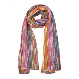 Missoni Striped Multicoloured Scarf