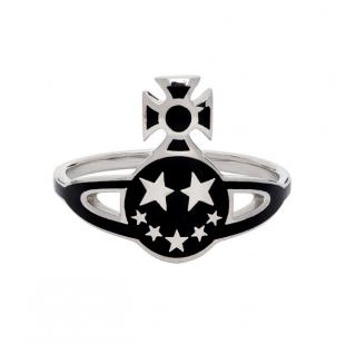 Vivienne Westwood Sterling Silver Lazarus Orb Ring