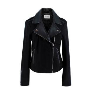 Claudie Pierlot Carma Black Leather Jacket