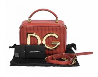 Dolce & Gabbana Quilted DG Girls Shoulder Bag