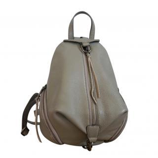 Rebecca Minkoff Grey Leather Julian backpack