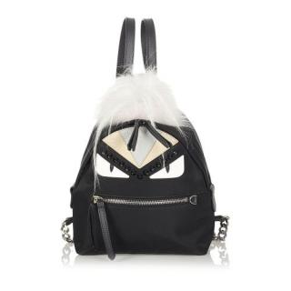 Fendi Mini Monster Nylon Backpack