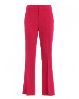 Gucci Hot Pink Crepe Bootcut Trousers