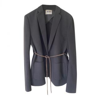 Acne Studios Black Tamara Belted Jacket