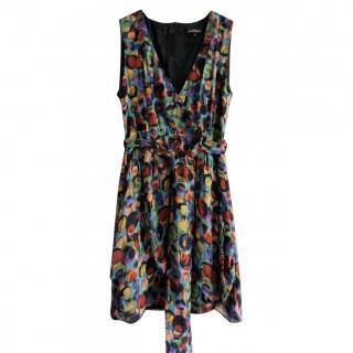 Nanette Lepore Multicoloured Printed Silk Tunic