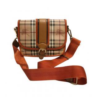 Burberry Nova Check Messenger Bag