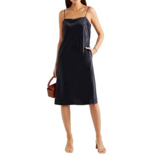 Deveaux Coco Satin Midi Dress
