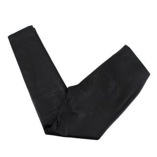 La Perla Black Leather Leggings
